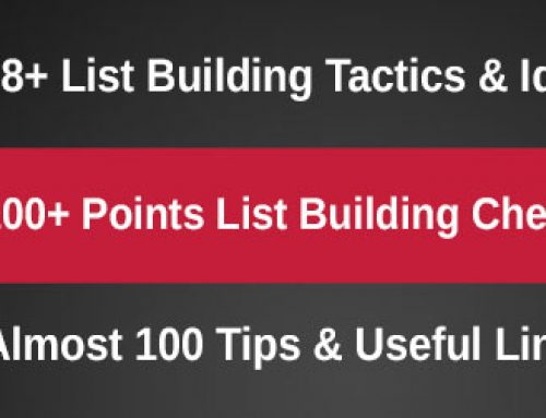 68+ list building tactics, ideas & tips for eCommerce (and beyond)