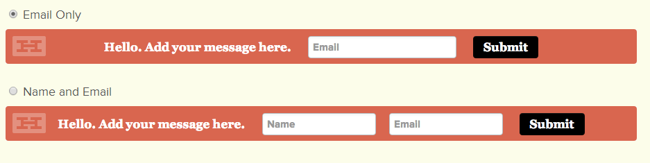 Hello Bar Setup for Email Subscription