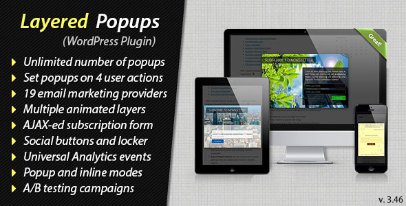 Layered Popups & Opt-in Content Locker