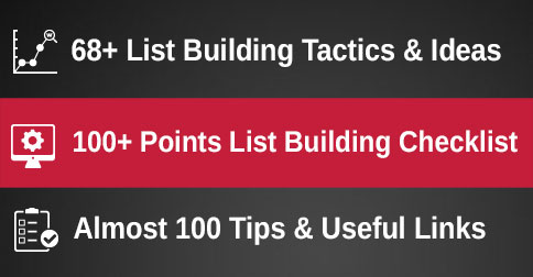 68 List Building Tactics for eCommerce & Beyond
