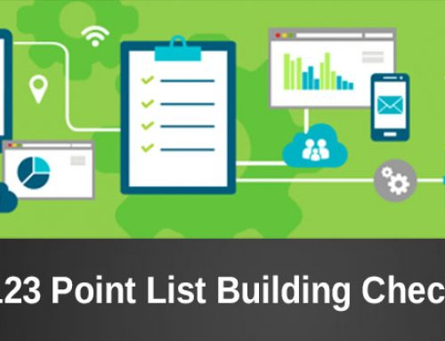 The email list building checklist: 123 points