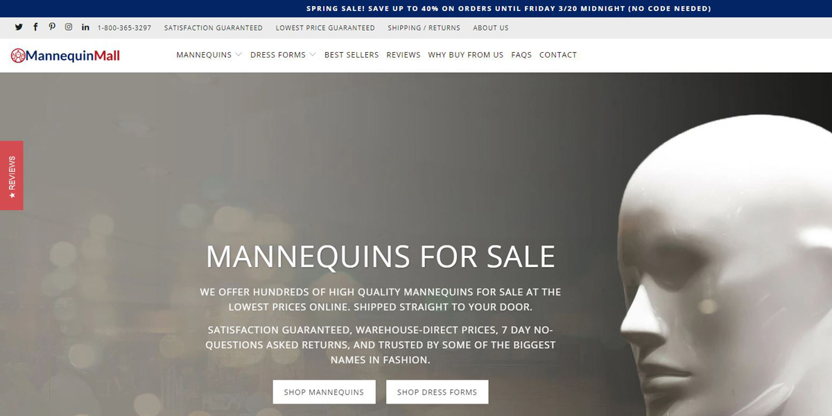 Project Example - Mannequin Mall
